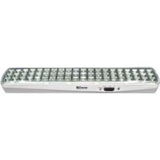 EL119 Светильник аккумуляторный, 60LED AC/DC (4V 2,4AH свинцово-кислая батарея), белый 12669