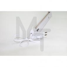 EL130 Светильник аккумуляторный, 30LED AC/DC (3,7V 1,2AH литий-ионная батарея), белый 12667