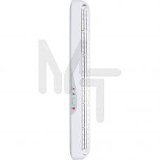 EL16 Светильник аккумуляторный, 90 LED белый AC/DC (мм 660*70*70) 12897
