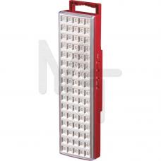 EL18 Светильник аккумуляторный, 80 LED белый DC (см 30*9*5.4) 12900