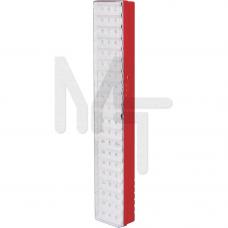 EL19 Светильник аккумуляторный, 60 LED белый DC (мм 437*77*54) 12902