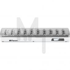 EL21 Светильник аккумуляторный, 40 LED белый DC (мм 280*70*50) 12903