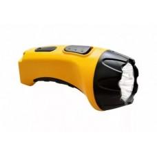 TH2293 аккумуляторный фонарь (TH93A)DC  желтый  4 LED 12651