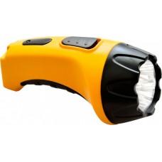 TH2294 аккумуляторный фонарь (TH93В)DC  желтый  7 LED 12652