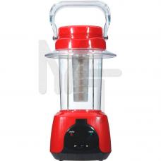 TL5 аккумуляторный фонарь 24 LED красный DC (см28.5*16*16) 12640