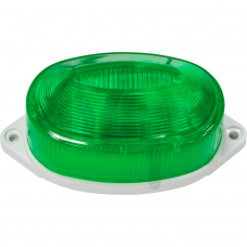 Светильник-вспышка (стробы) 3,5W 230V, зеленый, ST1D 26003
