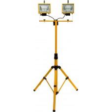 GL2702 2*500W 230V R7S на штативе (шнур 2м) с лампой, желтый 900*800*1870mm 12029