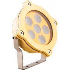 LL-873 Светодиодный прожектор подводный ЛЮКС, IP68 7,7W DC12V RGB 32037