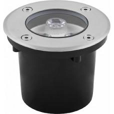 SP4111 Светильник тротуарный,3LED теплый белый,3W,100*H80mm,вн.диаметр:62mm,IP67 32012