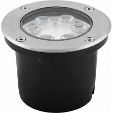 SP4112 Светильник тротуарный,6LED теплый белый,6W,120*H90mm,вн.диаметр:82mm,IP67 32015