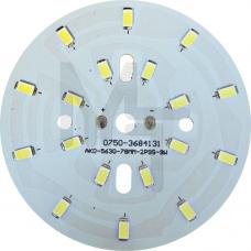LB-1764, светодиодный модуль на алюм.плате, 9W 18 LED SMD5730 495Lm 6400K D78mm 27990