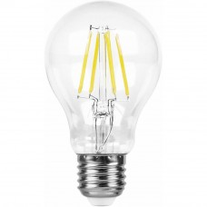 Лампа светодиодная LB-63 (9W) 230V E27 2700K филамент A60 25631