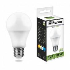 Лампа светодиодная LB-94 45LED (15W) 230V E27 4000K A60 25629