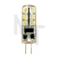 Лампа светодиодная LB-420 , 24LED(2W) 12V G4 4000K 25448