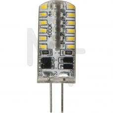 Лампа светодиодная LB-422 , 48LED(3W) 12V G4 4000K 25532