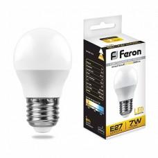 Лампа светодиодная LB-95 G45 230V 7W 580Lm  E27 6400K 25483