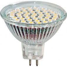 Лампа светодиодная LB-24 MR16 G5.3 230V 5W 44LEDS 6400K 25125