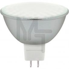 Лампа светодиодная LB-26 MR16  230V/50 7W 80LED 2700K G5.3 (мат) 25235