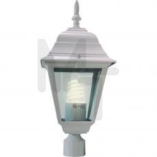 4103 Светильник садово-парковый, 60W 230V E27 белый 11017