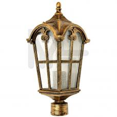 PL104 Светильник садово-парковый, 60W 230V E27 черное золото 11296