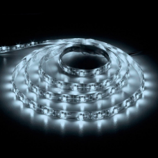LS604/LED-RL 60SMD(3528)/m 4.8W/m 12V 5m*8*0.22mm  белый на белом IP65 27638