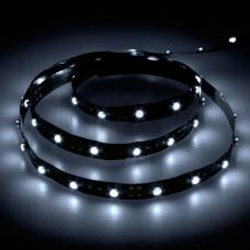 LS603/LED-RL 60SMD(3528)/m 4.8W/m 12V 5m*8*0.22mm синий на белом 27673