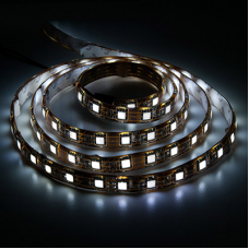 LS607/LED-RL 60SMD(5050)/m 14,4W/m 12V 5m*10*0.22mm белый на беломIP65 27652