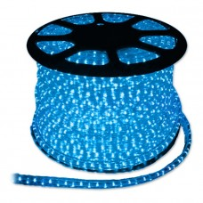 Дюралайт  LED 3WAY 11,5х17,5мм синий (72 led/m) квадратный светодиодный 26071