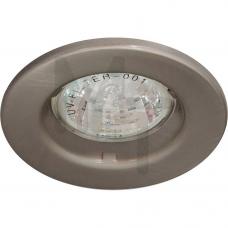 Светильник DL7 Свет.под MR-11 не поворотный титан 15098