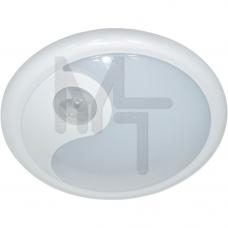 FN1200 6LED 0,3W светильник с датчиком движения 3м 120?, IP40, 115*115*45, белый 23290