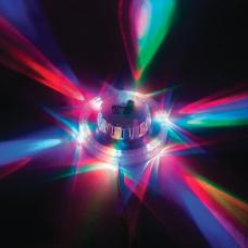LB-801 Лампа светодиодная ,48LED 5W 230V RGB 25496
