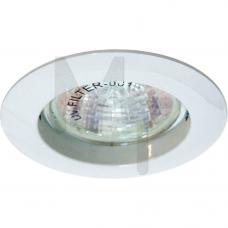 Светильник DL 307 неповоротный белый MR-16(литье) 15009