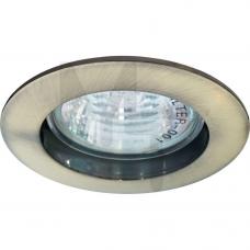 Светильник DL 307 неповоротный титан MR-16(литье) 15011