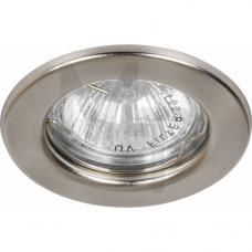 Светильник DL10 MR-16 не поворотный титан 15112