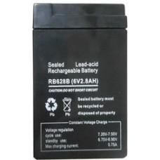 Батарея (перезаряжаемый аккумулятор) 6V 2.8AH, EL 12, EL 13 1001945