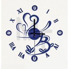 NL31 Часы-наклейка с маятником 1*AА батарея( в комплект не входит) 23268