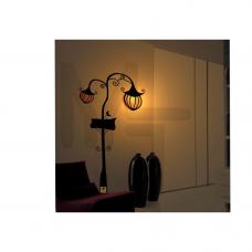 NL41 Светильник-ночник 230V ESB 7W E14 с сетевым шнуром 23271