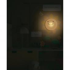 NL50 Светильник-ночник 1W hign power LED 3*АА батареи ( в комплект не входят)  с выключателем 23274