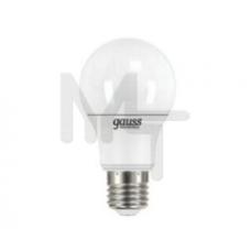 Лампа светодиодная Gauss LED Elementary A55 7W 4100K E27 Globe акция 23227A