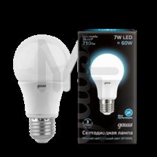 Лампа светодиодная Gauss LED A60 7W 4100K E27 Globe 102502207