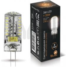 Лампа светодиодная Gauss LED G4 3W 2700K AC85-265V 1/20/200 107707103