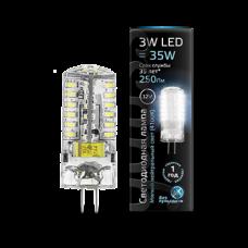 Лампа светодиодная Gauss LED G4 3W 4100K 12V 1/20/200 207707203