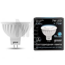 Лампа светодиодная Gauss LED MR16 7W SMD 4100K GU5.3 1/10/100 101505207