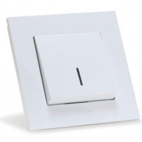 Eqona 4011102 Выкл. 1-клав. с подсветкой белый 01 40 11 00 100 102