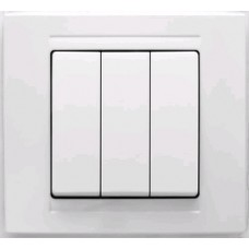 MD2911160 Выкл. 3-клав. бел. 01 29 11 00 100 160