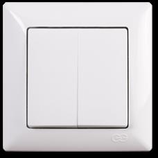 VS2811103 Выкл. 2-клав. бел. 01 28 11 00 100 103
