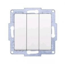 VS2811160 Выкл. 3-клав. бел. 01 28 11 00 100 160