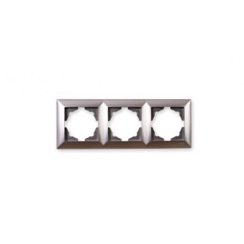VS2815143 Рамка 3-я серебряный металлик 01 28 15 00 000 143