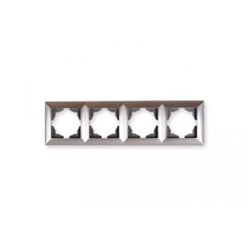 VS2815145 Рамка 4-я серебряный металлик 01 28 15 00 000 145