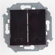 MD2934104 Выкл. 2-клав. с подсветкой черный 01 29 34 00 100 104